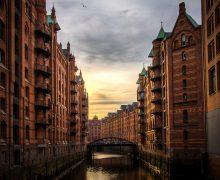 Hamburg river
