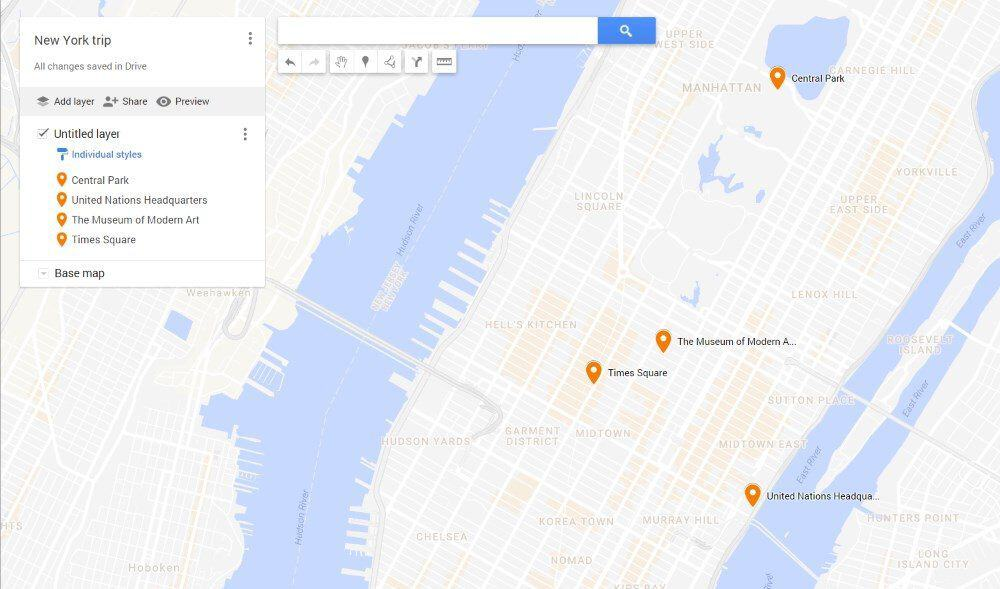 Google Maps - custom maps