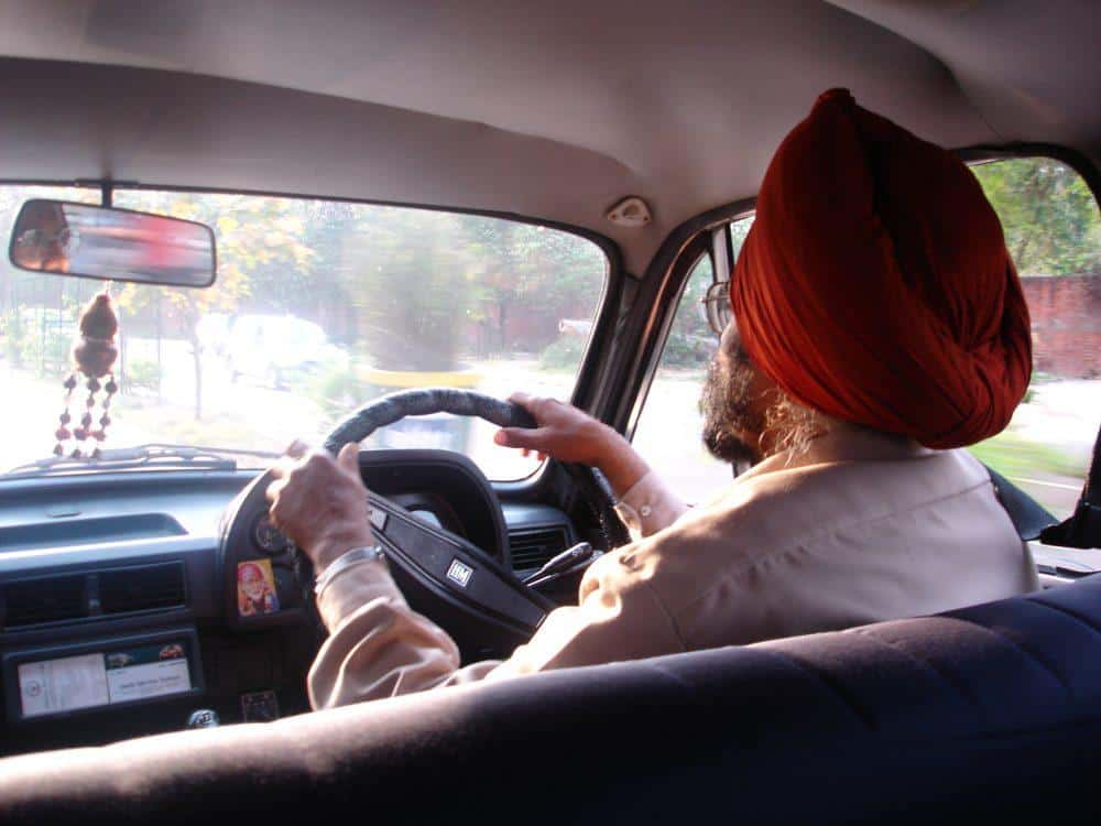 India Taxi Driver