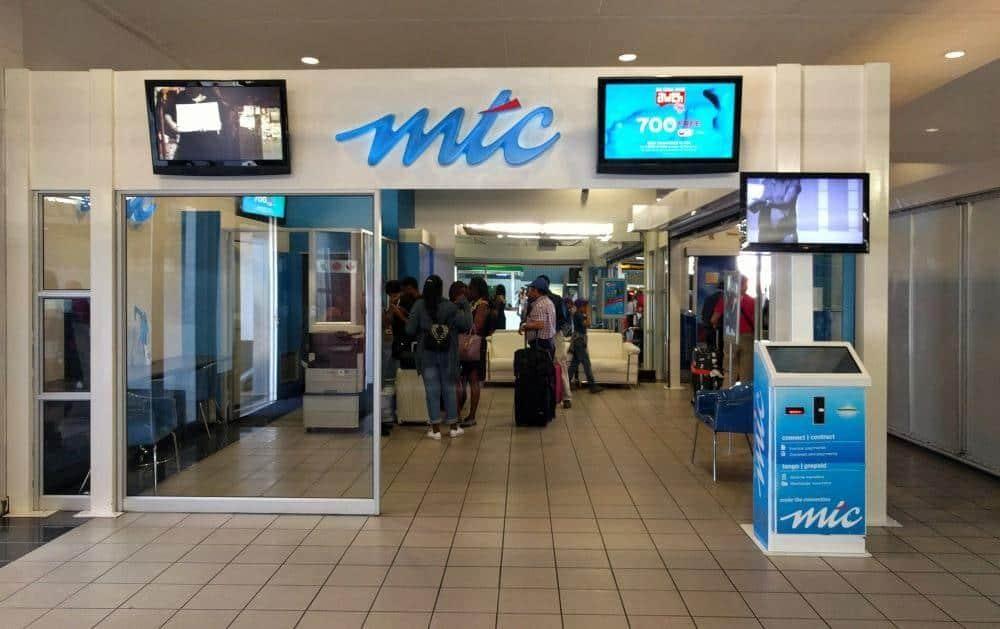 MTC store Windhoek airport