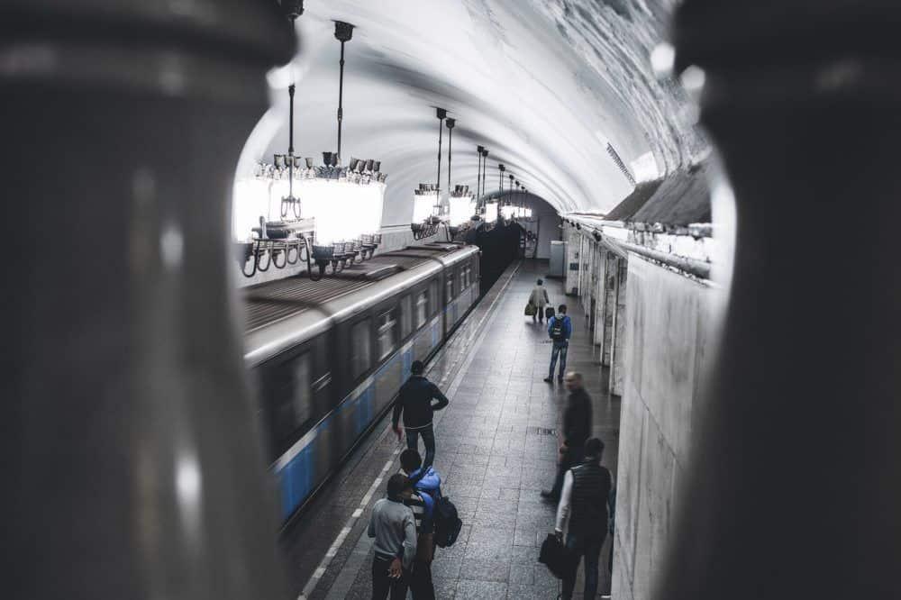 Train travel Russia