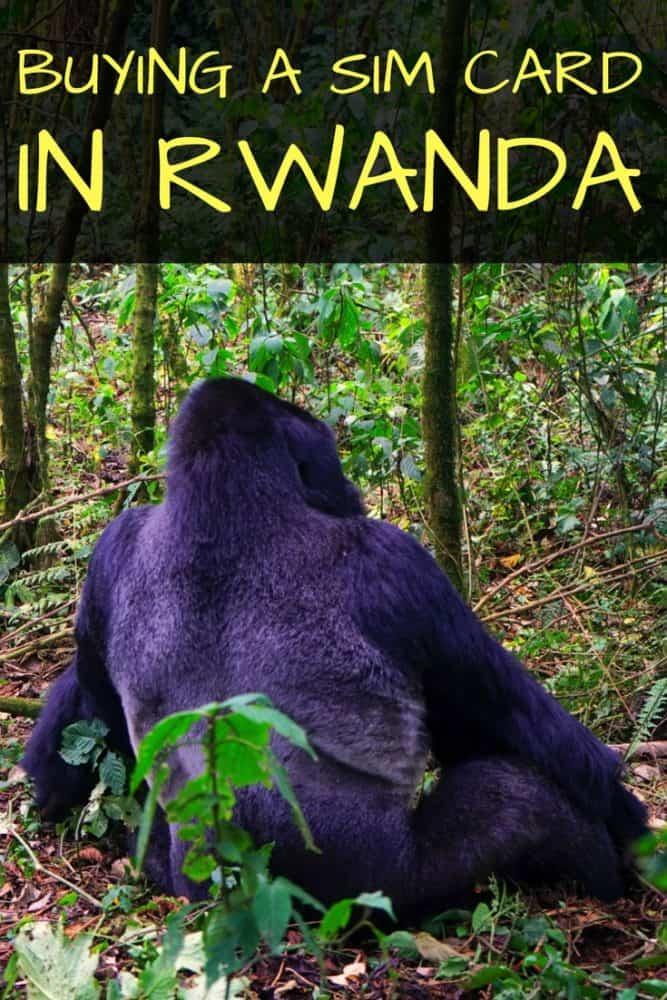 Buying a SIM Card in Rwanda