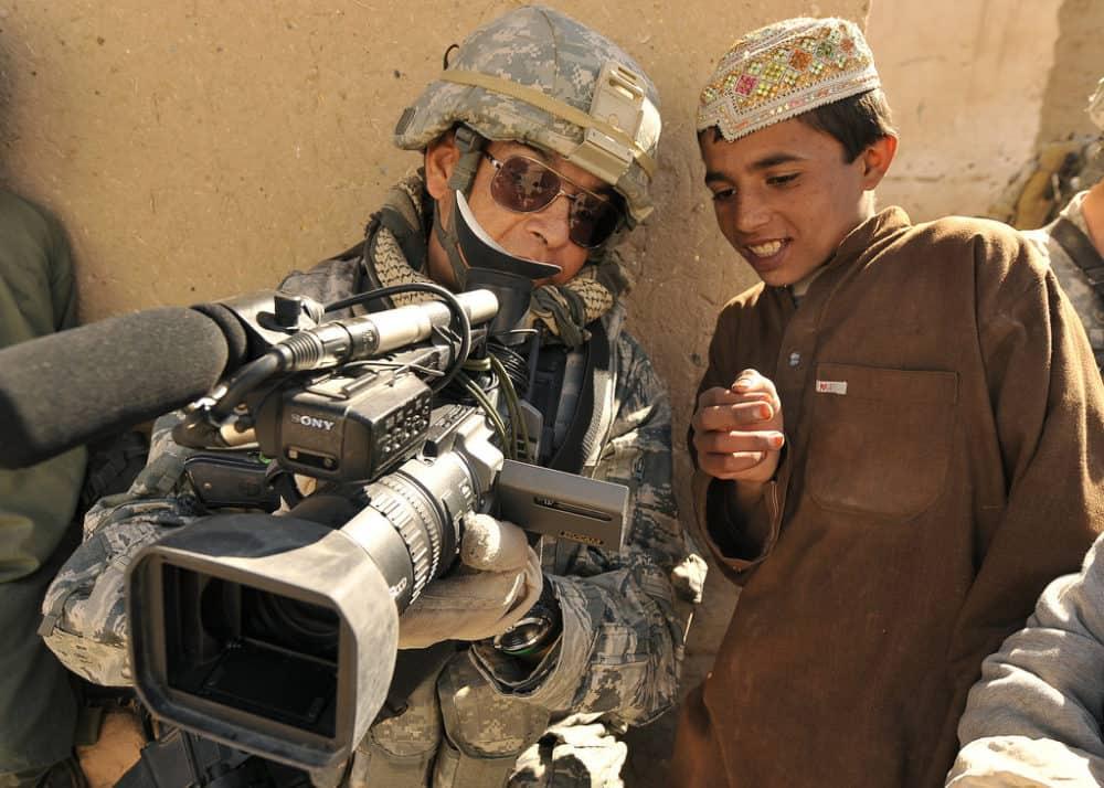 War cameraman