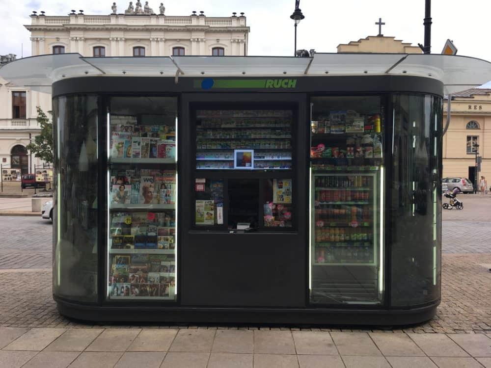 Warsaw kiosk