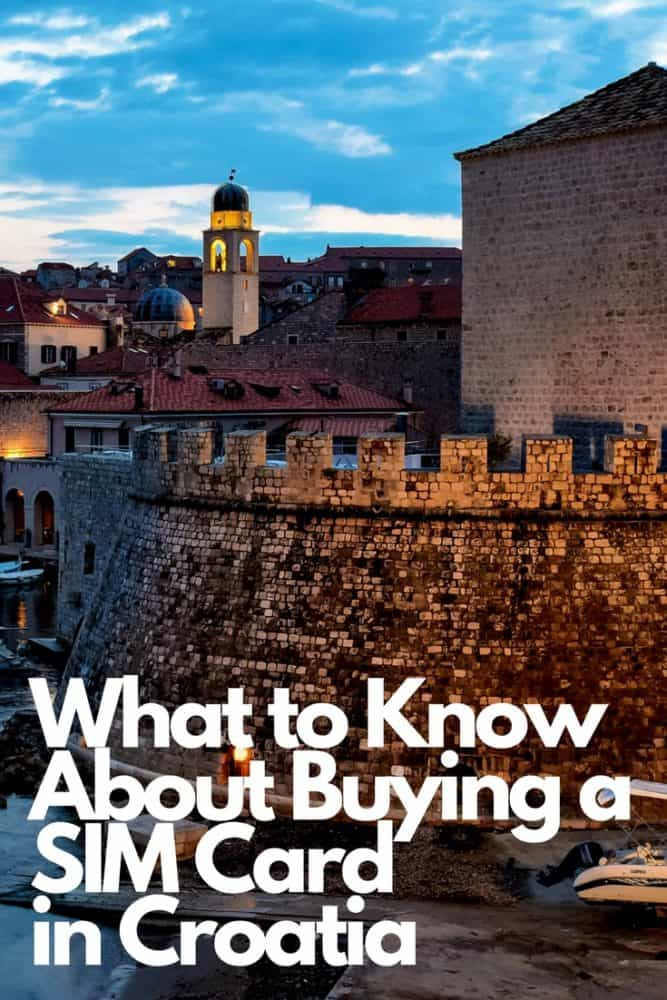 What to Know About Buying a SIM Card in Croatia
