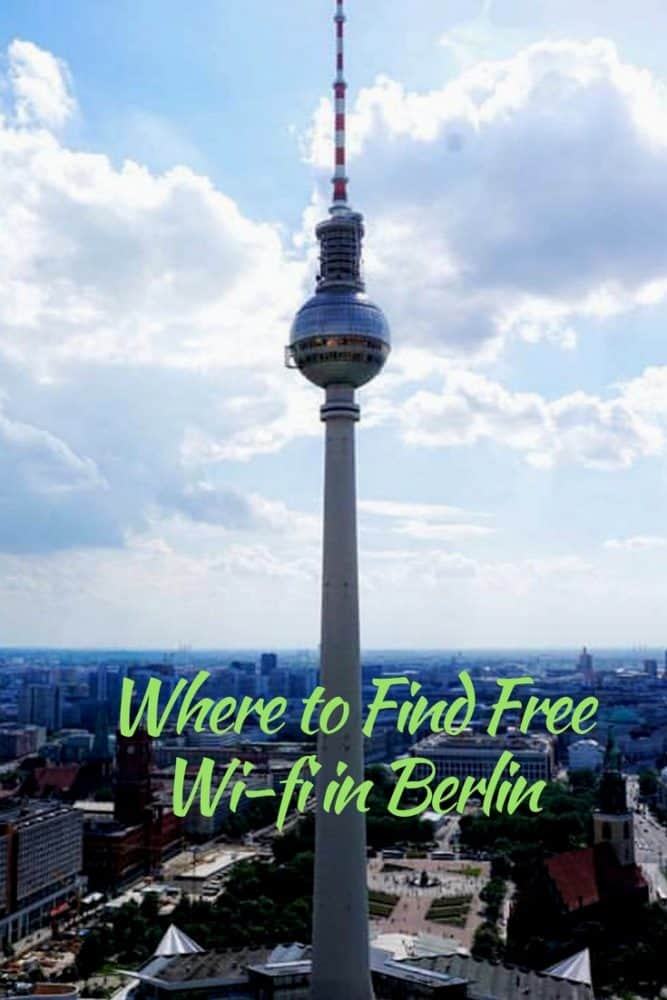 Where to find free Wi-Fi in Berlin