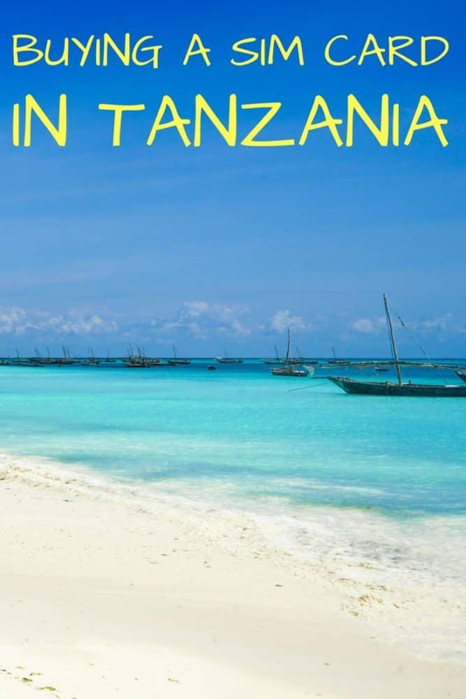 Buying a SIM Card in Tanzania