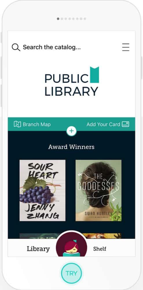 Libby app screenshot