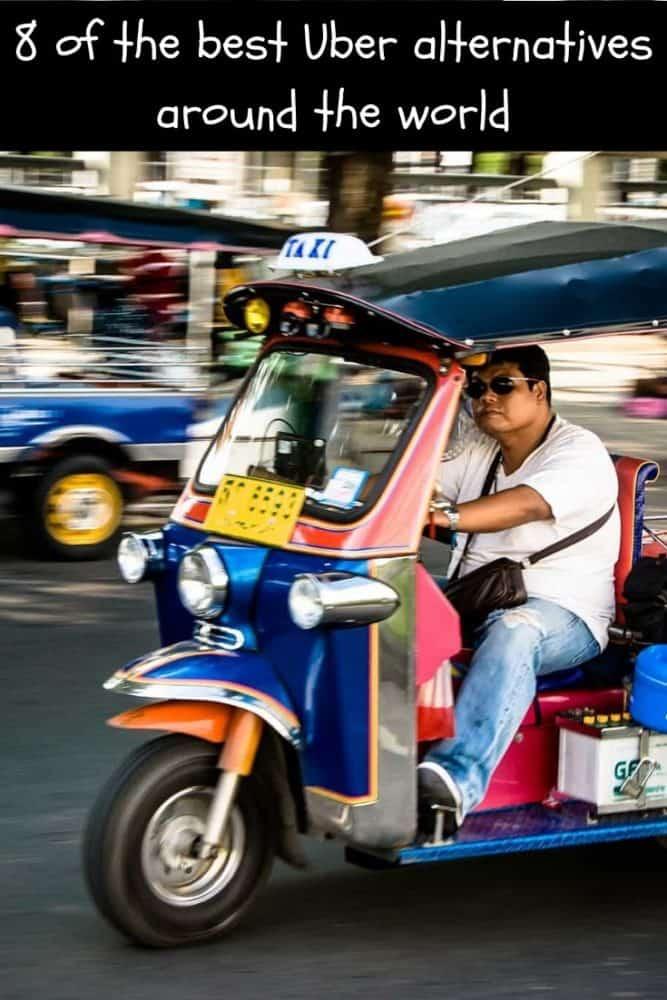 8 of the Best Uber Alternatives Around the World