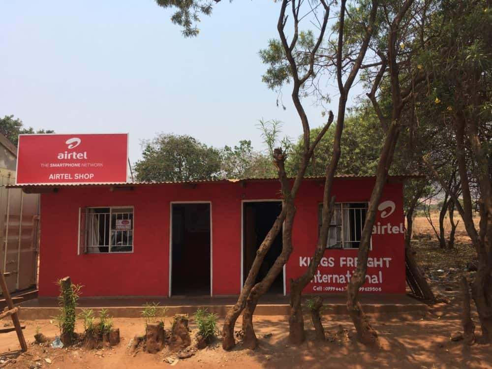Airtel store, Malawi