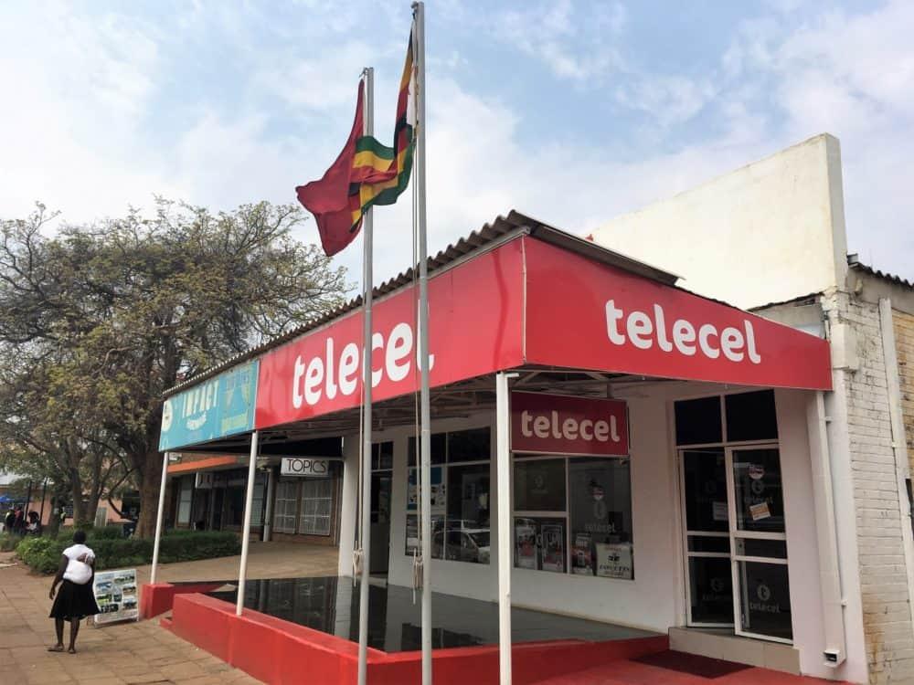 Telecel store Victoria Falls