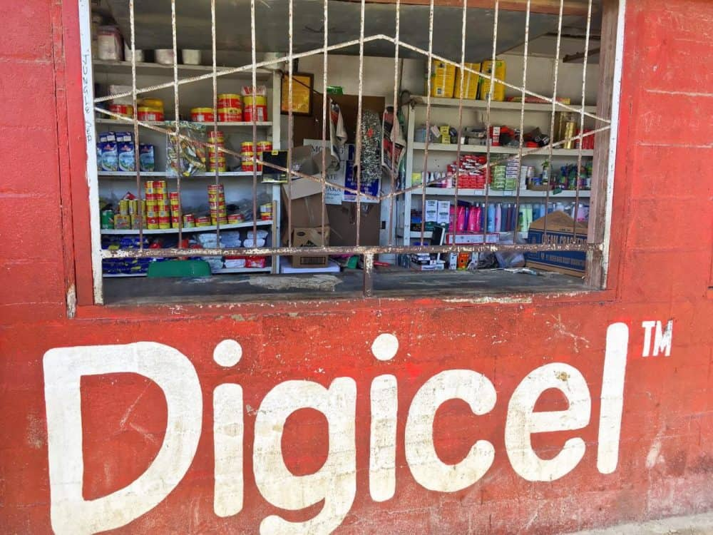 Digicell store in Tonga
