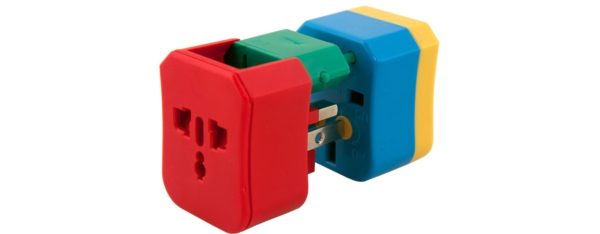Flight 001 travel adapter