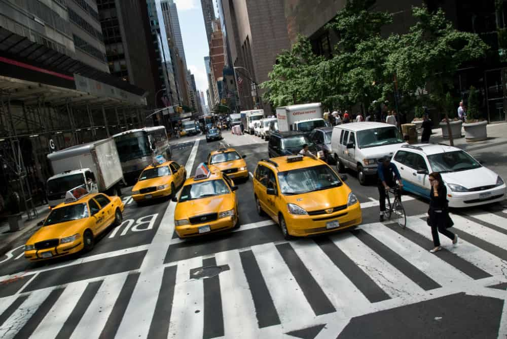 Taxis in New York City