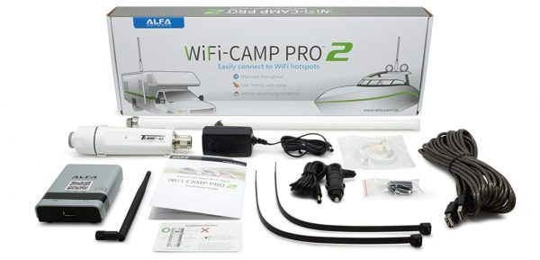 Alfa Camp Pro 2 range extender kit