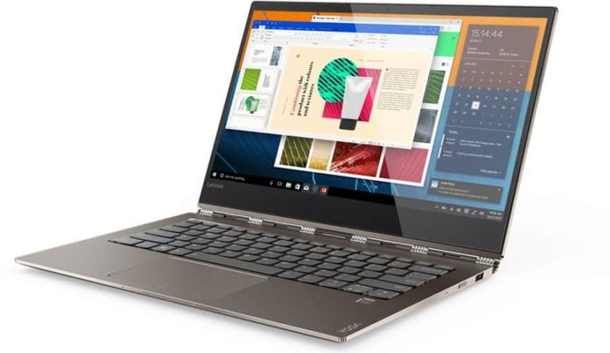Yoga 920 laptop mode