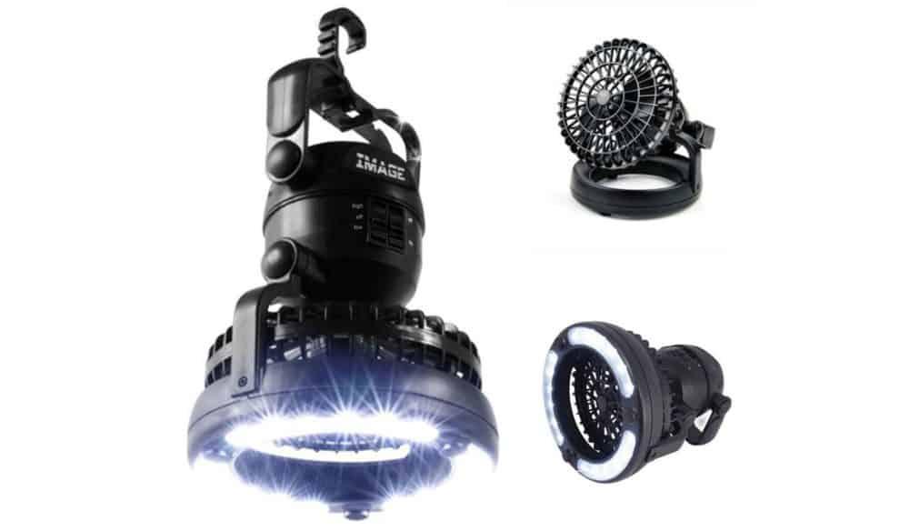 Image Portable lantern and fan