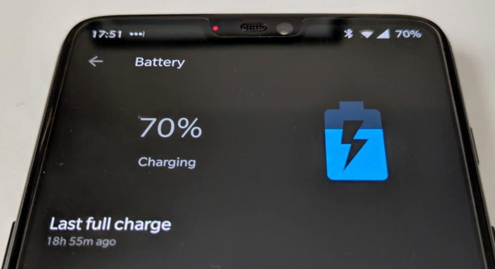 OP6 battery