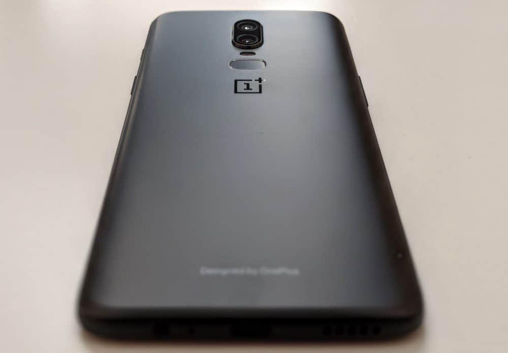 OnePlus 6 - rear
