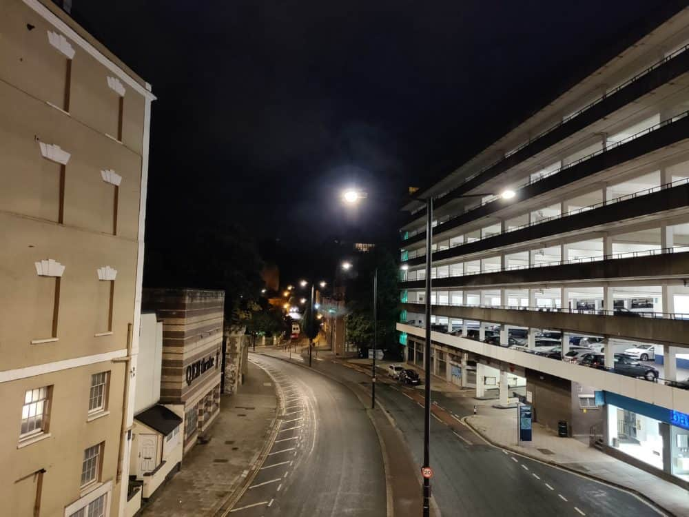 Street and carpark