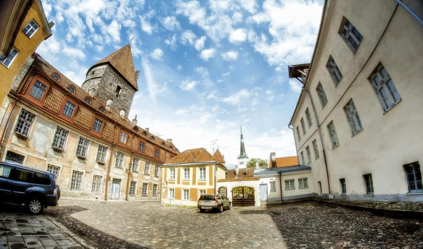 Estonia old streets