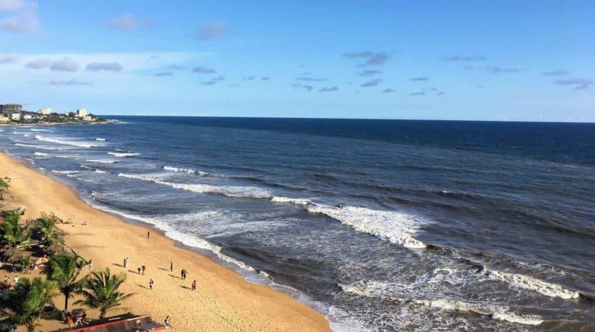 Beach in Liberia