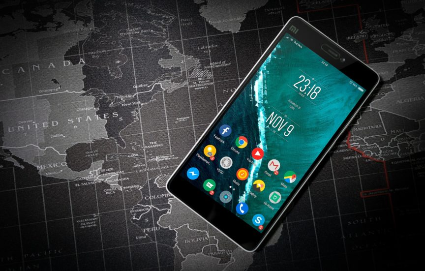 Map and Android phone
