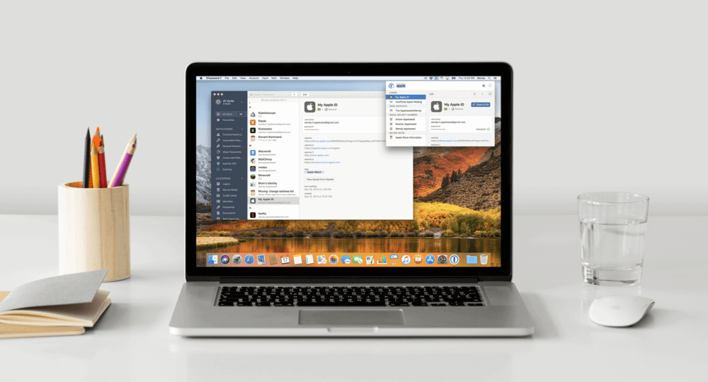 1Password Laptop
