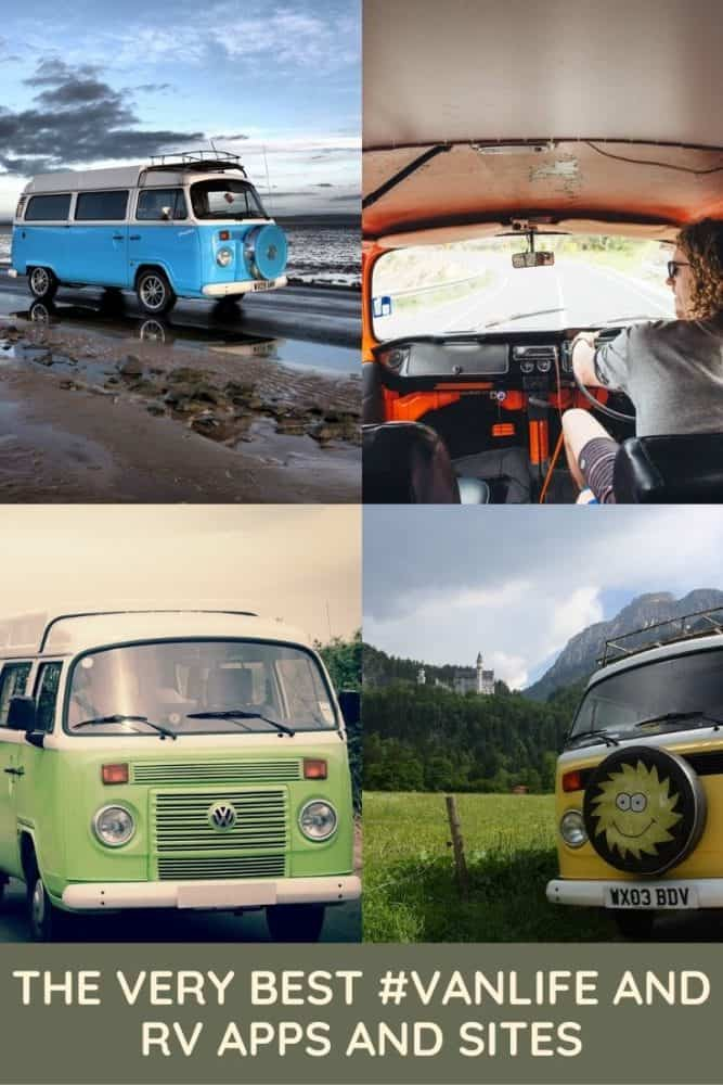 The Very Best Vanlife and RV Apps