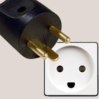 Type K plug and socket