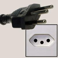 Type N plug and socket