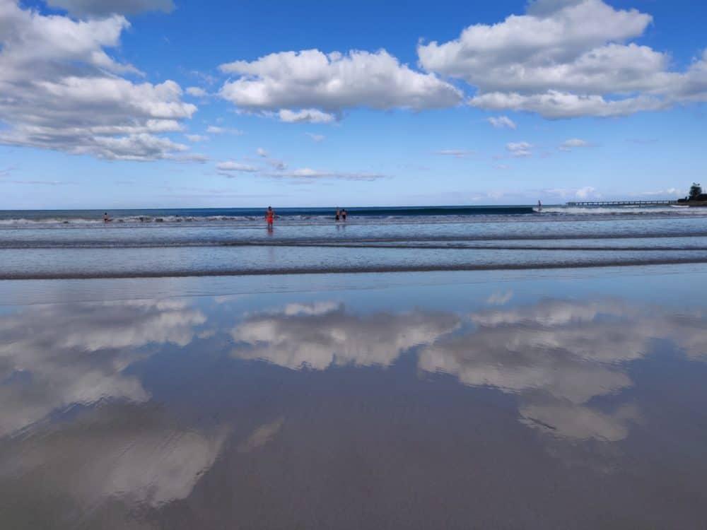 Beach and reflections, Australia
