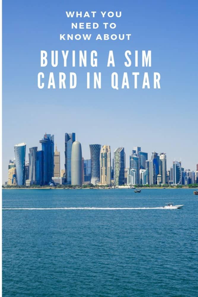Buying a SIM card in Qatar