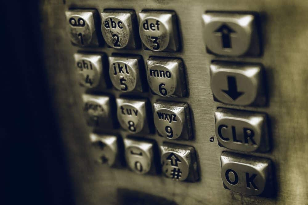 Phone dialpad