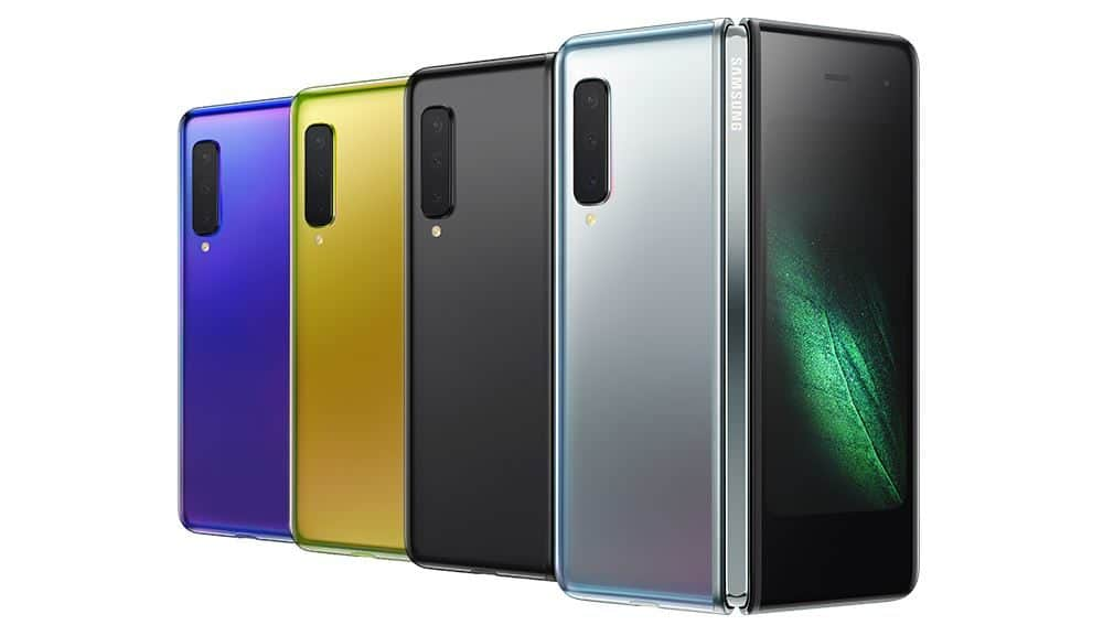 Samsung Galaxy Fold press shot