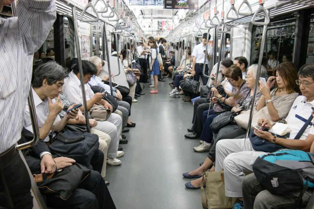 Tokyo subway car