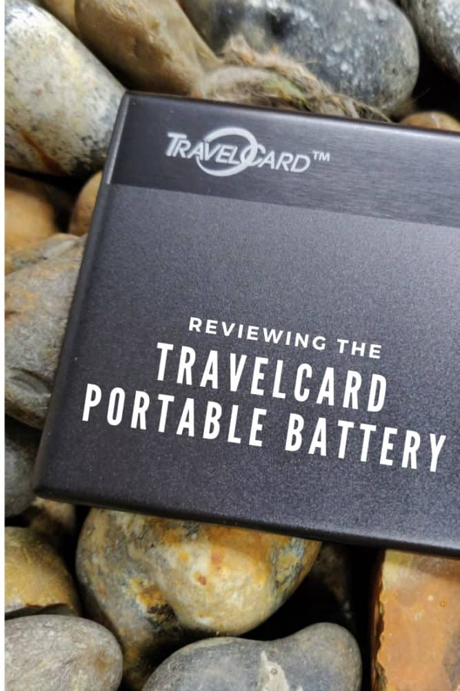 TravelCard Portable Battery Review