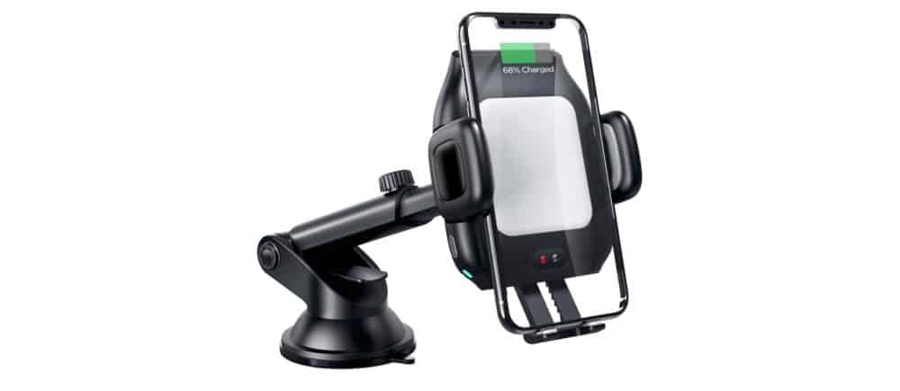 CNSL 15W Wireless Car Charger Mount