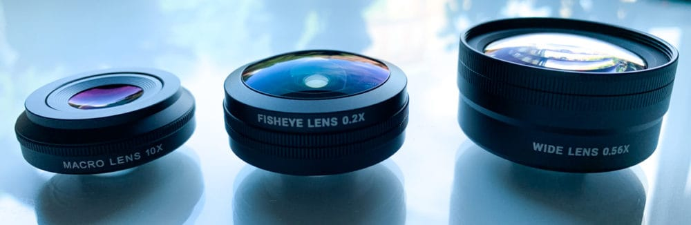 Sandmarc lenses in a row