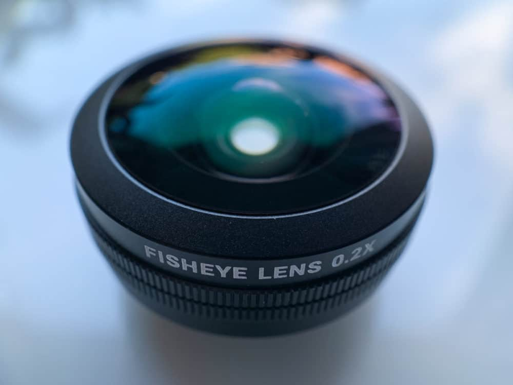 Sandmarc fisheye lens