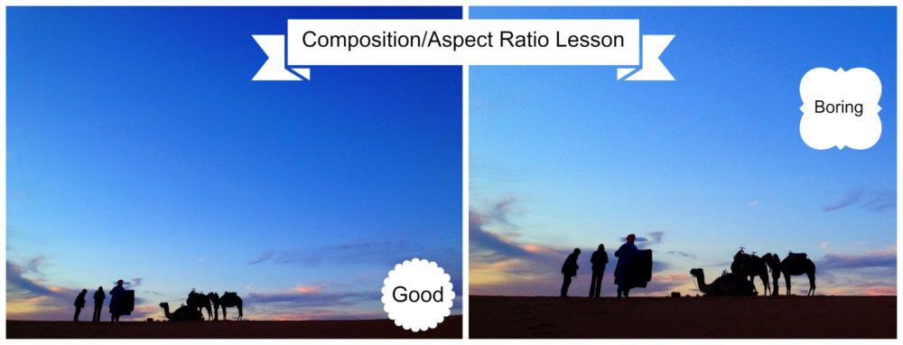 Composition/Aspect Ratio lesson