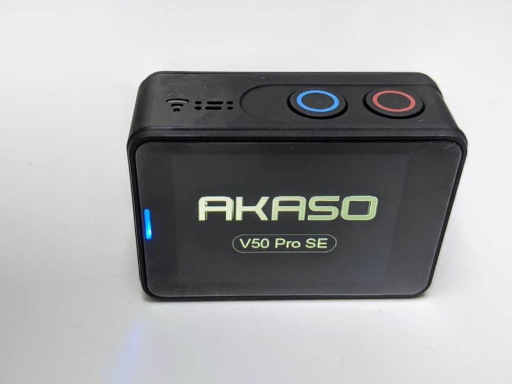 Akaso V50 Pro SE product - back