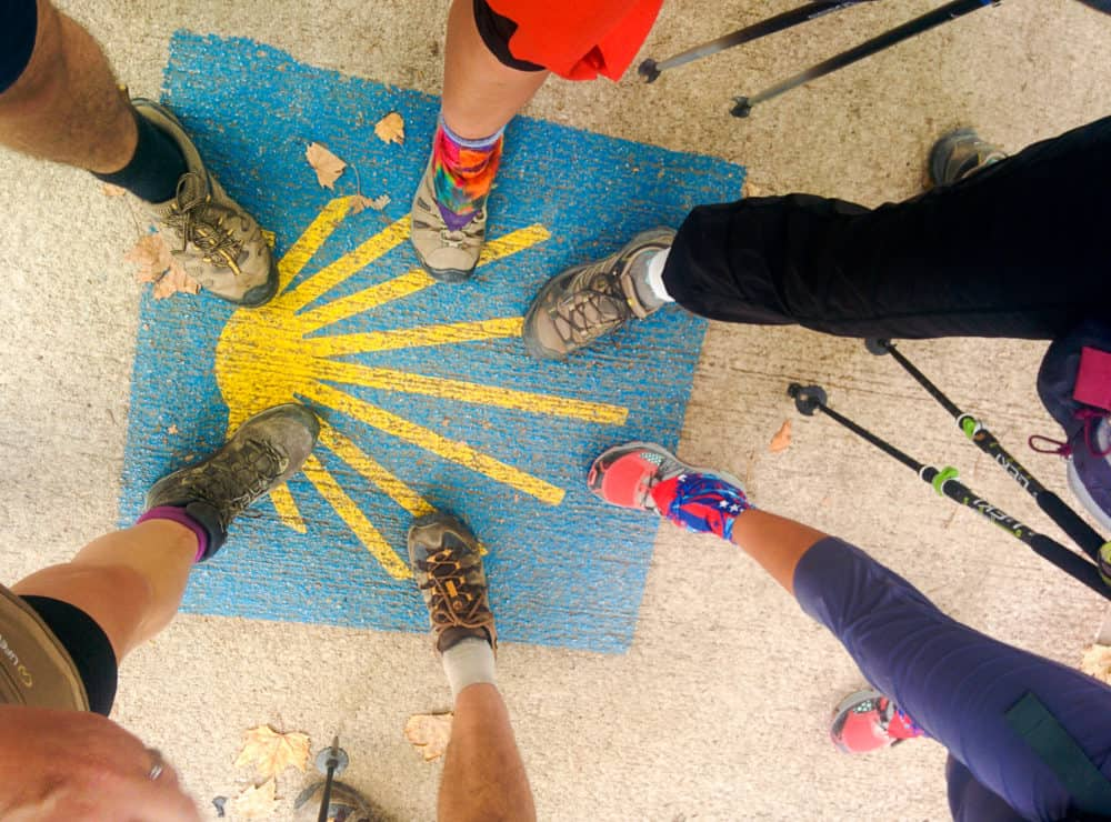 Camino Frances - feet