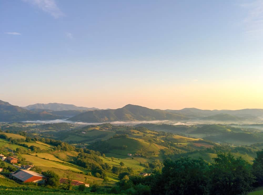 Camino Frances - sunrise