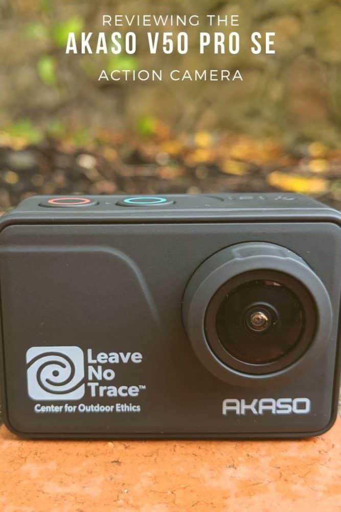 Reviewing the Akaso V50 Pro SE action camera