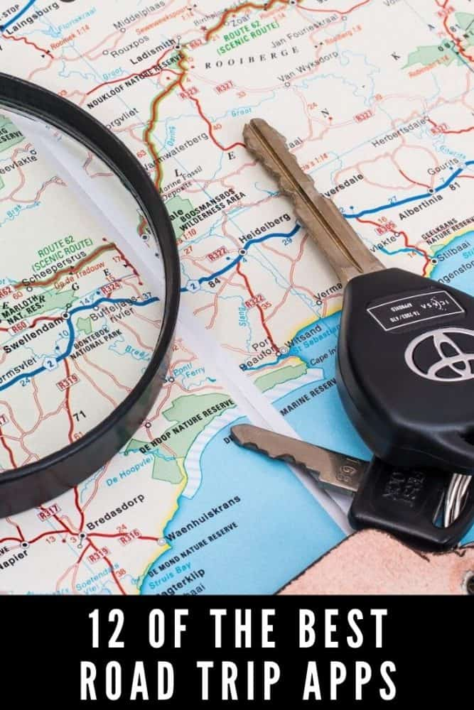 12 of the best road trip apps