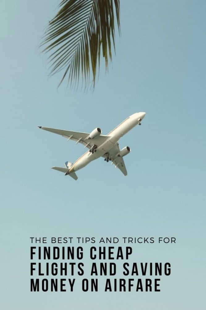 Finding cheap flights and saving money on airfare