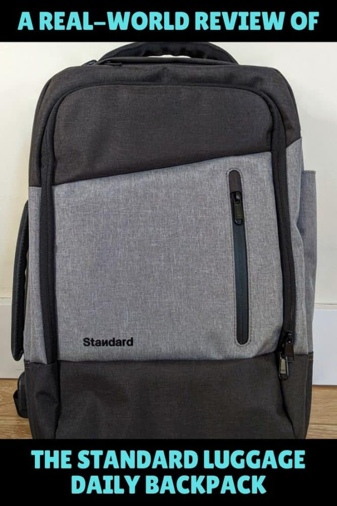 Reviewing the Standard Luggage Daily Backpack