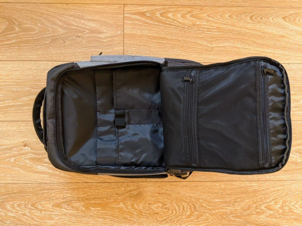 Standard Daily Backpack - front compartment