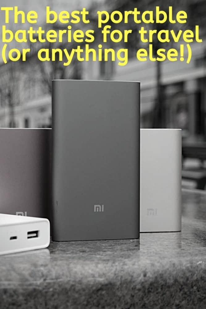 Best portable batteries for travel (or anything else!)